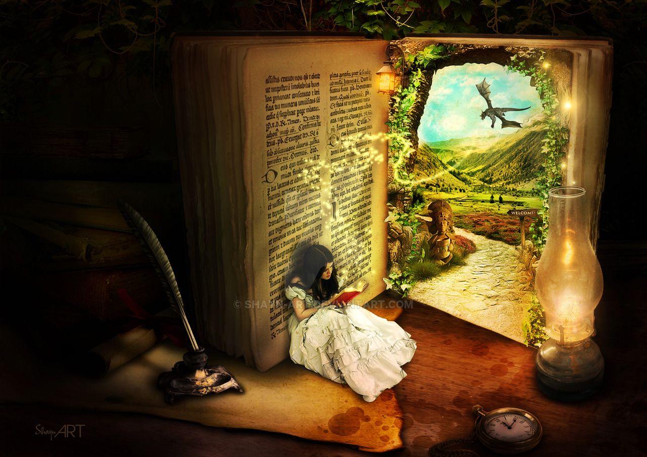 Fantasy Book Artwork