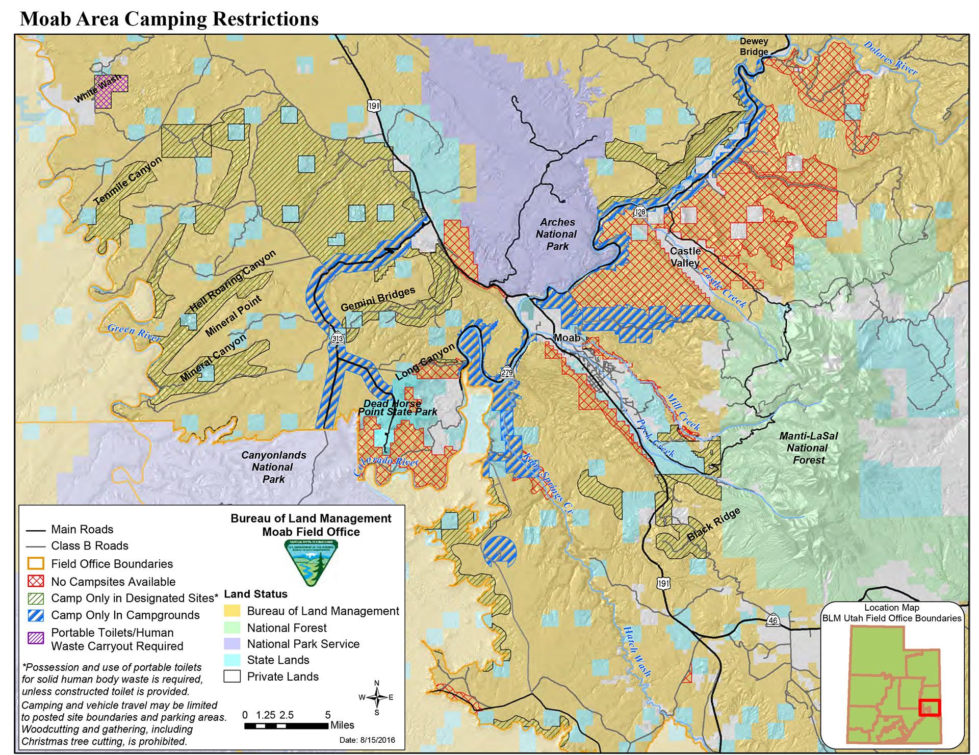 Bureau Of Land Management Blm Campgrounds Discover Moab Utah Moab Camping Moab Utah Camping Utah Camping