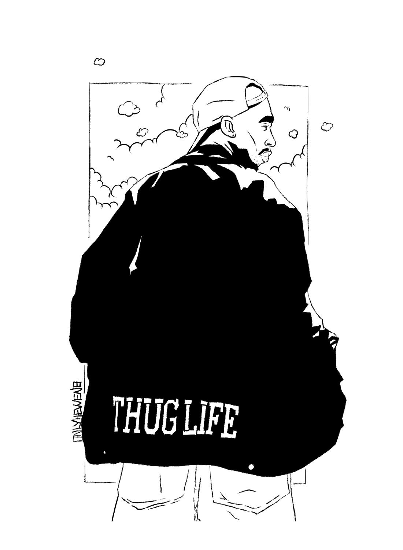 onlyhevvenarts THUG LIFE Thug life, Thug, Life