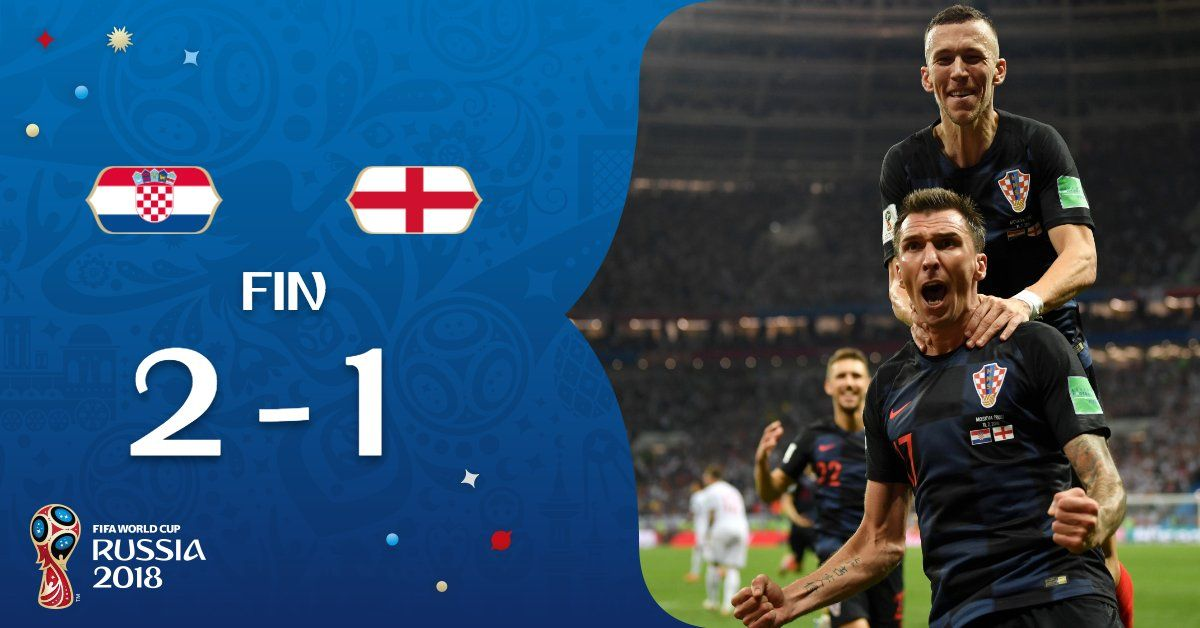 Video Croatia Vs England 2 1 Highlights Goals Croatia Vs England 2 1 Highlights Download 11 July 2018 World Cup Semi Final England Are Unchanged From T