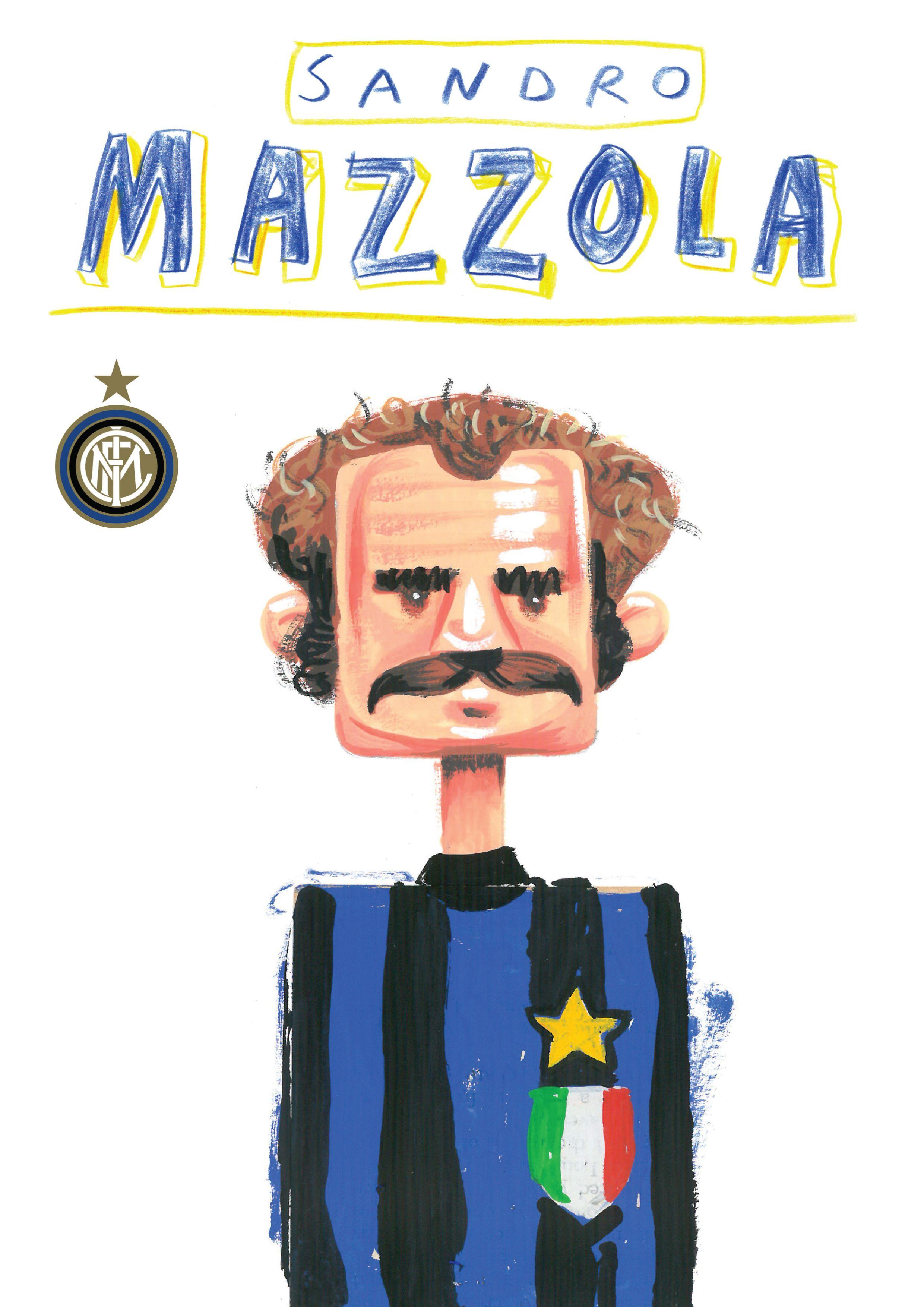 Sandro Mazzola. Inter milan. Football. Calcio. Calcio