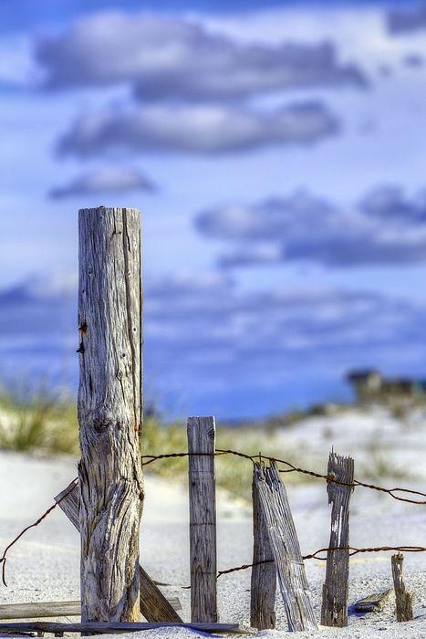 Panama City Beach Fl Florida The Panhandle Emerald Coast Sand Dunes Fence Fences Sea Oats Gulf