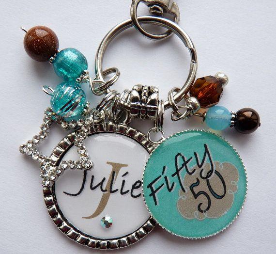Personalized 50th Birthday Gift Name Sister Aunt Daughter Nana Grandma Friend Milestone