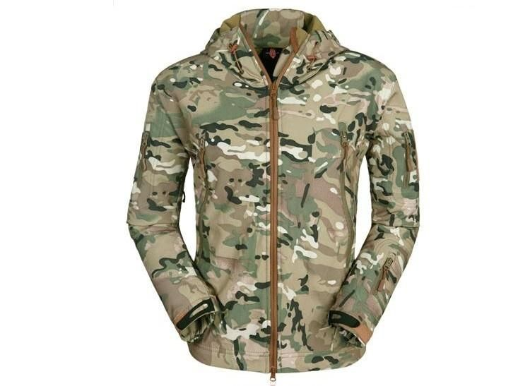 895f4ddaef833 Lurker Shark Skin Softshell V5 Military Tactical Jacket Men Waterproof Coat  Camouflage Hooded Army Camo Clothing Item Type: Outerwear & Coats Outerwear  ...