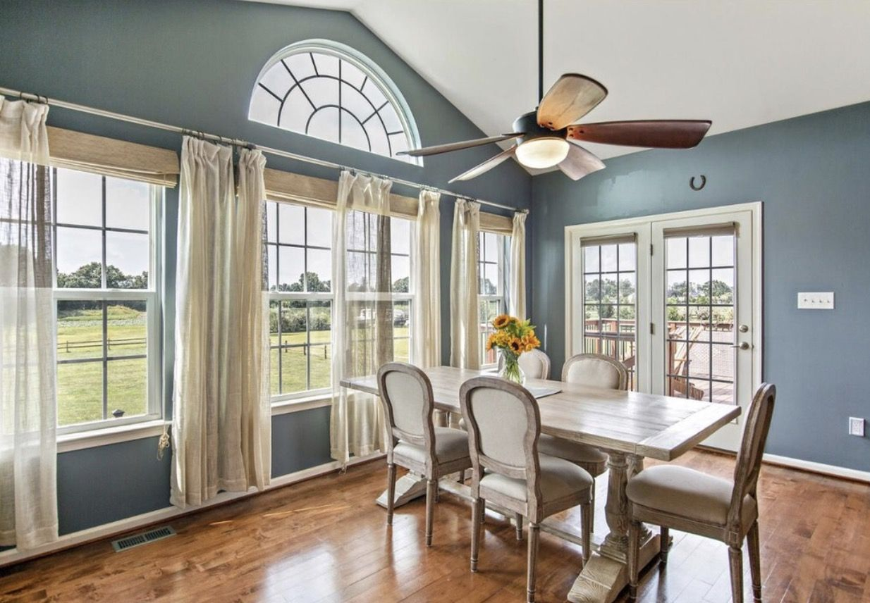 Sherwin Williams Downing Slate Morning Room Morning Room Home Room Colors