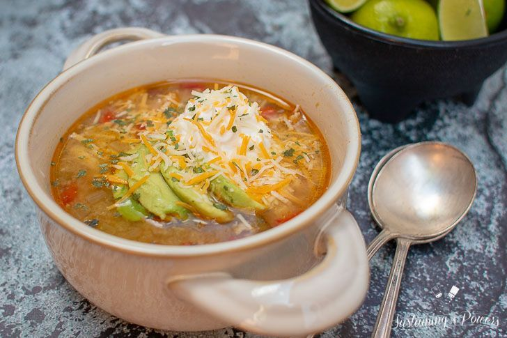 This quick, low-carb tomatillo soup can be prepped in less than 15 minutes and then simmers all day in the slow cooker. lowcarbslowcooker