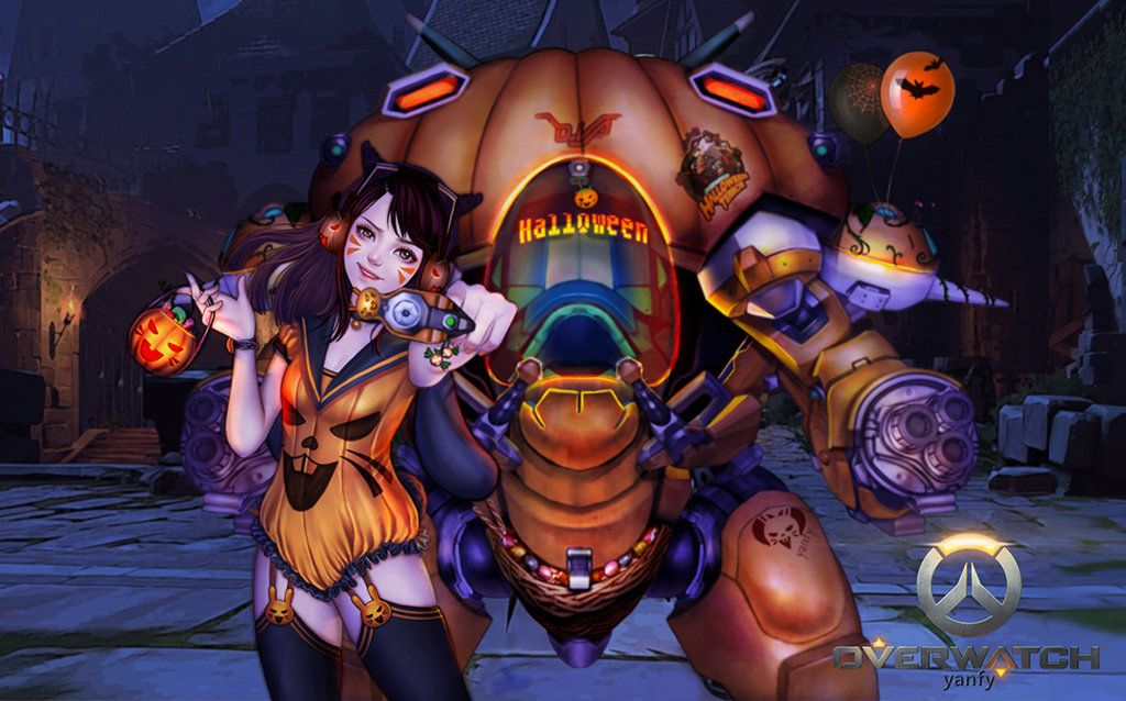 2020 Overwaych Halloween Skins Overwatch Halloween Wallpaper   Best Wallpaper HD | Overwatch skin