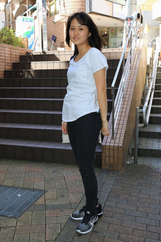 美少女 私服 街撮り ボード「パンツスタイル」のピン