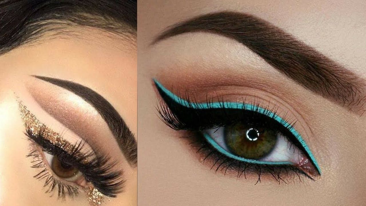 Easy And Beautiful Eye Makeup Tutorial Compilation Videos Blue