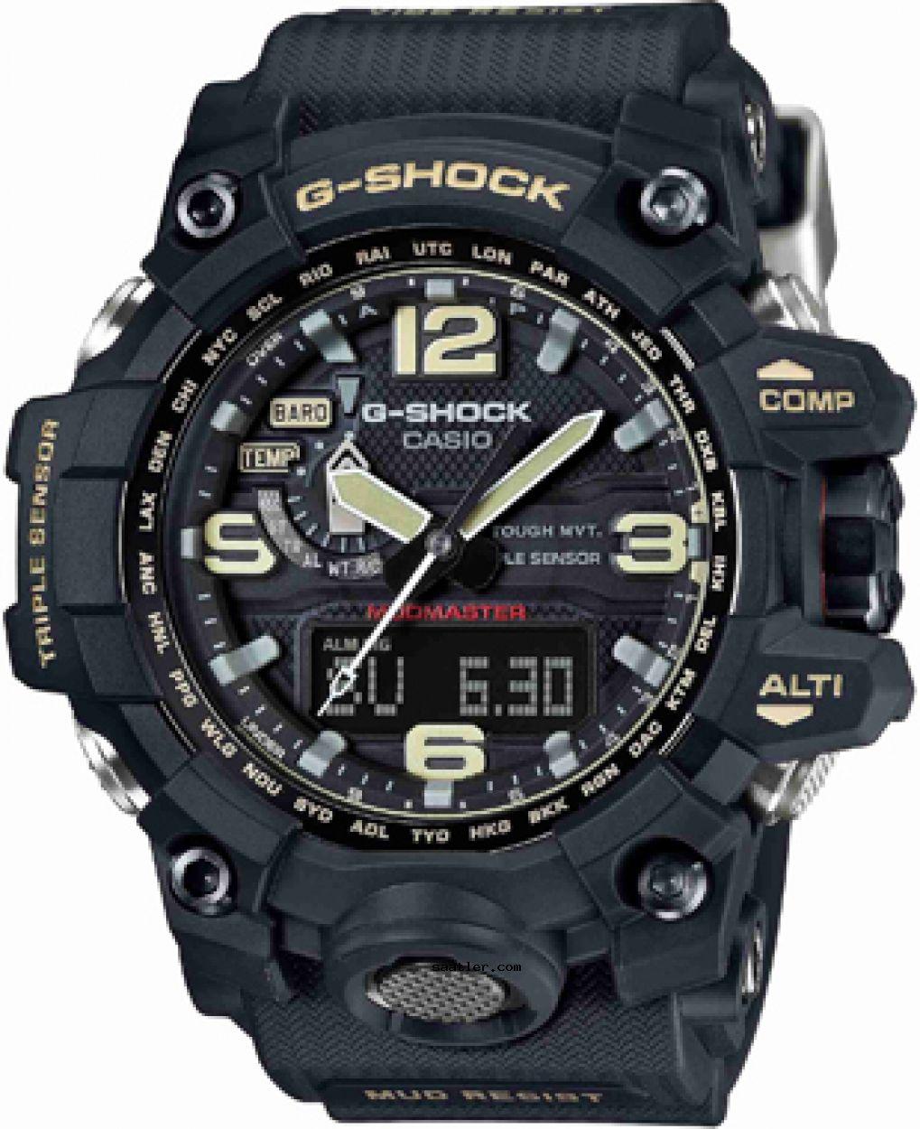 Casio Gwg 1000 1adr Kol Saati Casio G Shock Watches G Shock Mudmaster Casio G Shock
