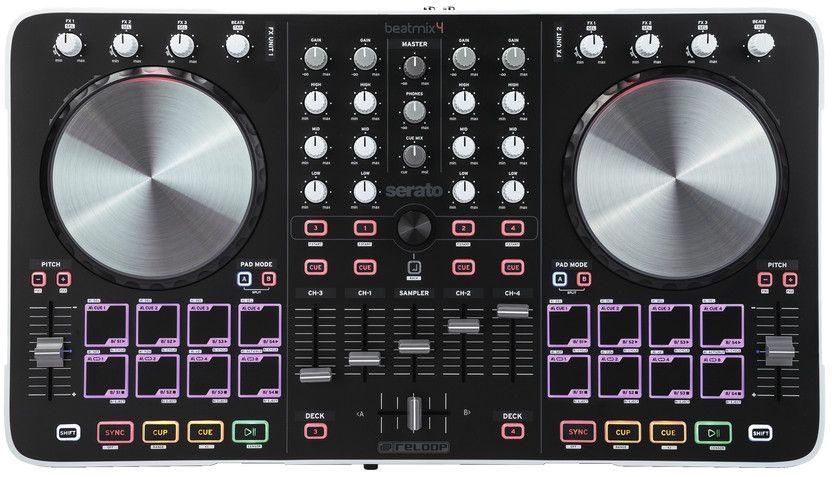 Reloop Beatmix 4 DJ Controller - Reloop Beatmix 4 is a performance