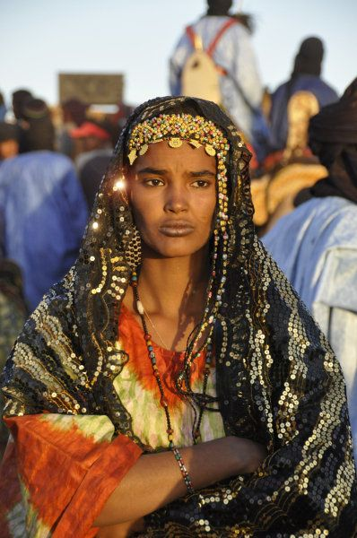 North African Women Tuareg People African People African Royalty