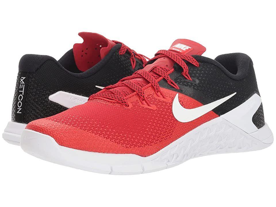 Nike Metcon 4 (University Red/Black/White) Men's Cross
