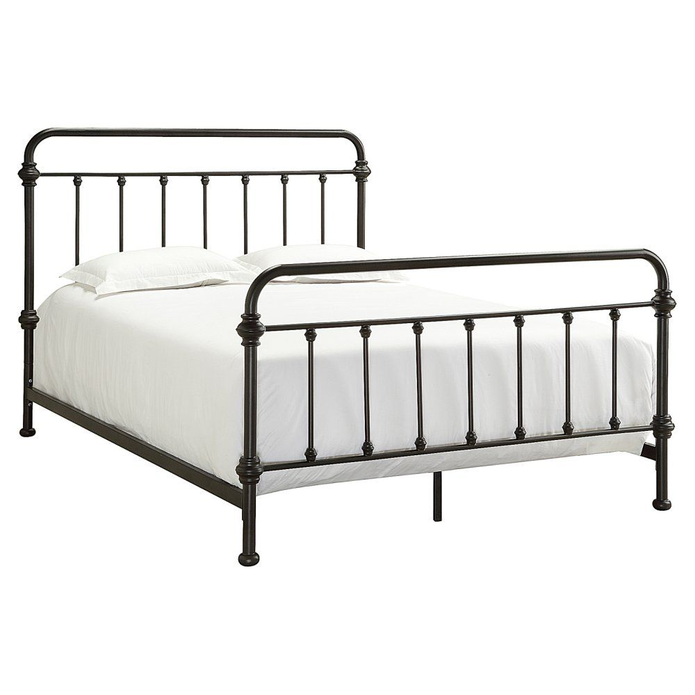 Weston Home Nottingham Metal Spindle Bed Metal Beds Iron Bed Iron Bed Frame