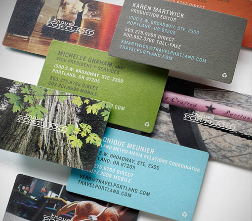 Travel portland by sockeye creative design printbranding travel portland business cards by sockeye creative colourmoves