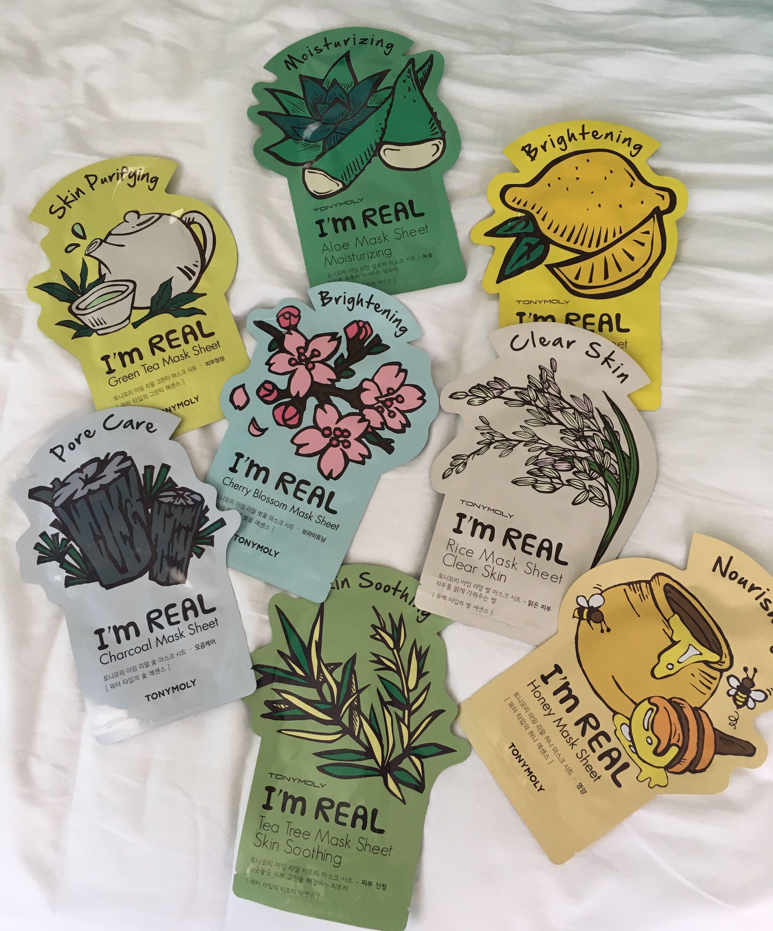 Photo of Sheet masks from TONYMOLY  #SkinTighteningAfterWeightLoss #…