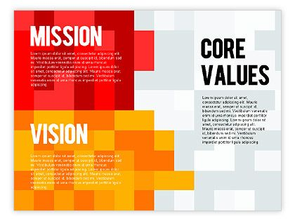 Bright and clear Mission, Vision and Core Values Diagram is - best of 10 sample company mission statement