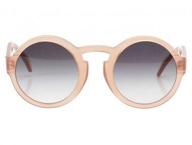 heißes Produkt aliexpress Schnelle Lieferung Le Flâneur, runde Sonnenbrille, rosa | Mode: Sonnenbrillen ...