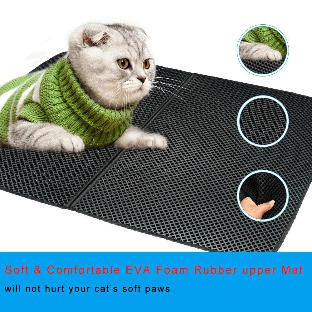Doublelayer Cat Litter Mat Thenexdeals Cat litter mat