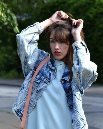 How to wear a jeansjacket every day❤️