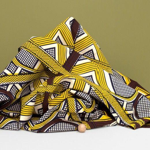 tissu wax julius quadrillage milh la mercerie en ligne milh haberdashery pinterest. Black Bedroom Furniture Sets. Home Design Ideas