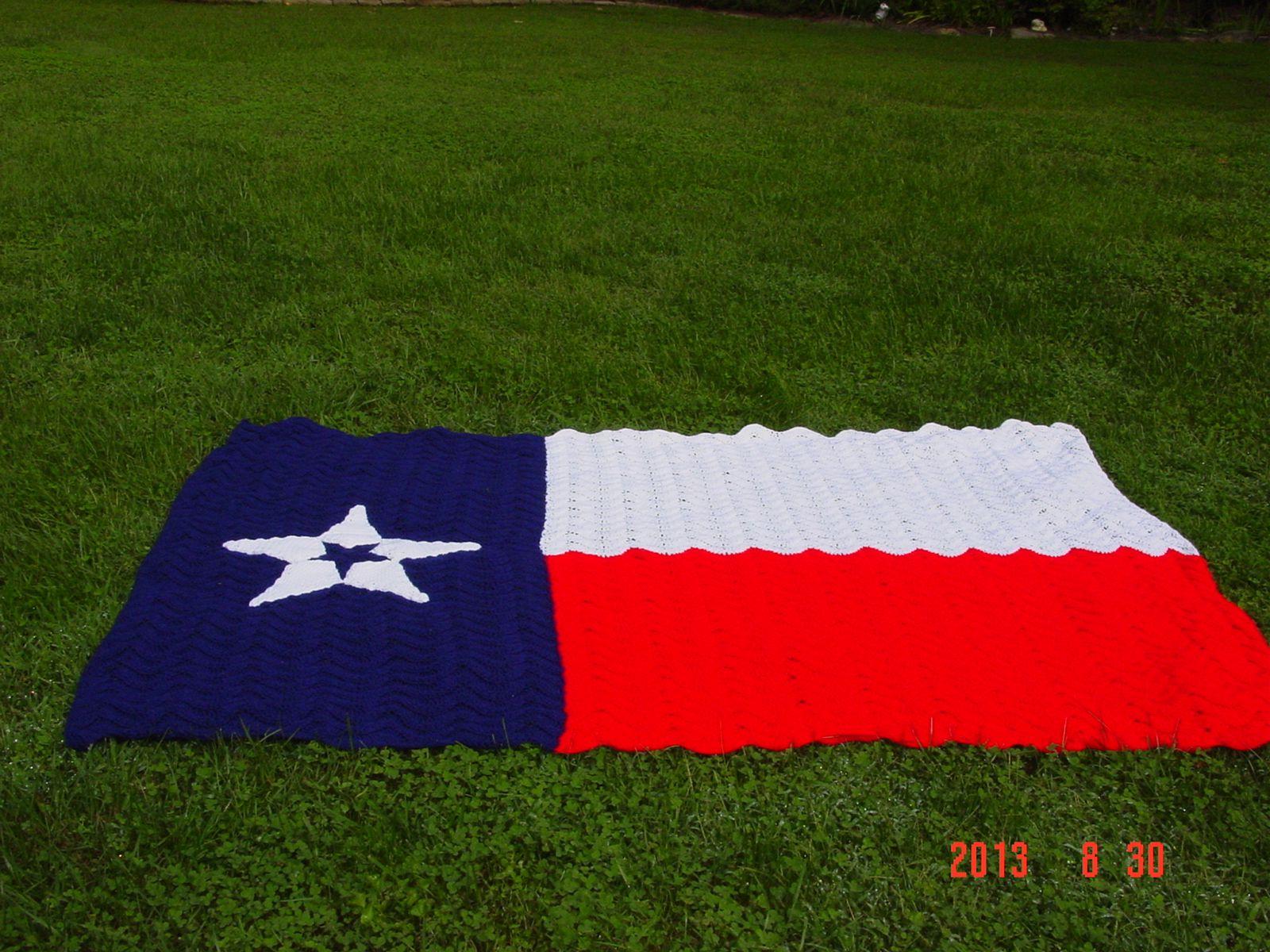 Crochet Afghan Texas Flag Crochet Afghan Texas Flag Crafts Flag Crafts