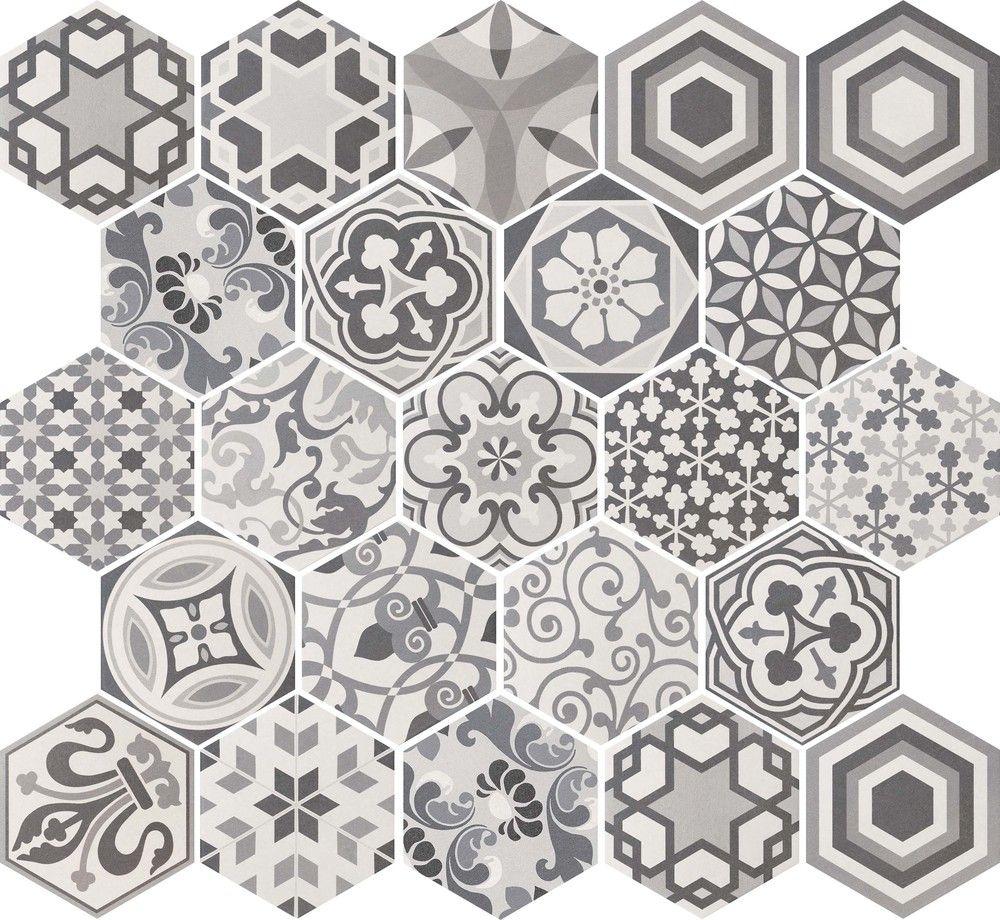 hexatile equipe ceramicas tiles remarkable hexagon harmony wall floor tiles cm x 20 cm 600 x 600 111 kb jpeg dailygadgetfo Gallery
