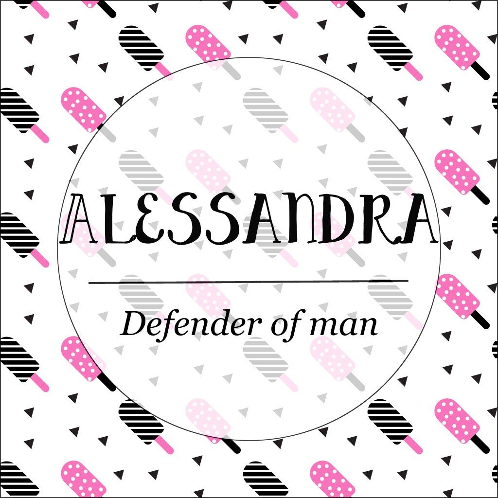 Alessandra   Kid names, Alana, Character names