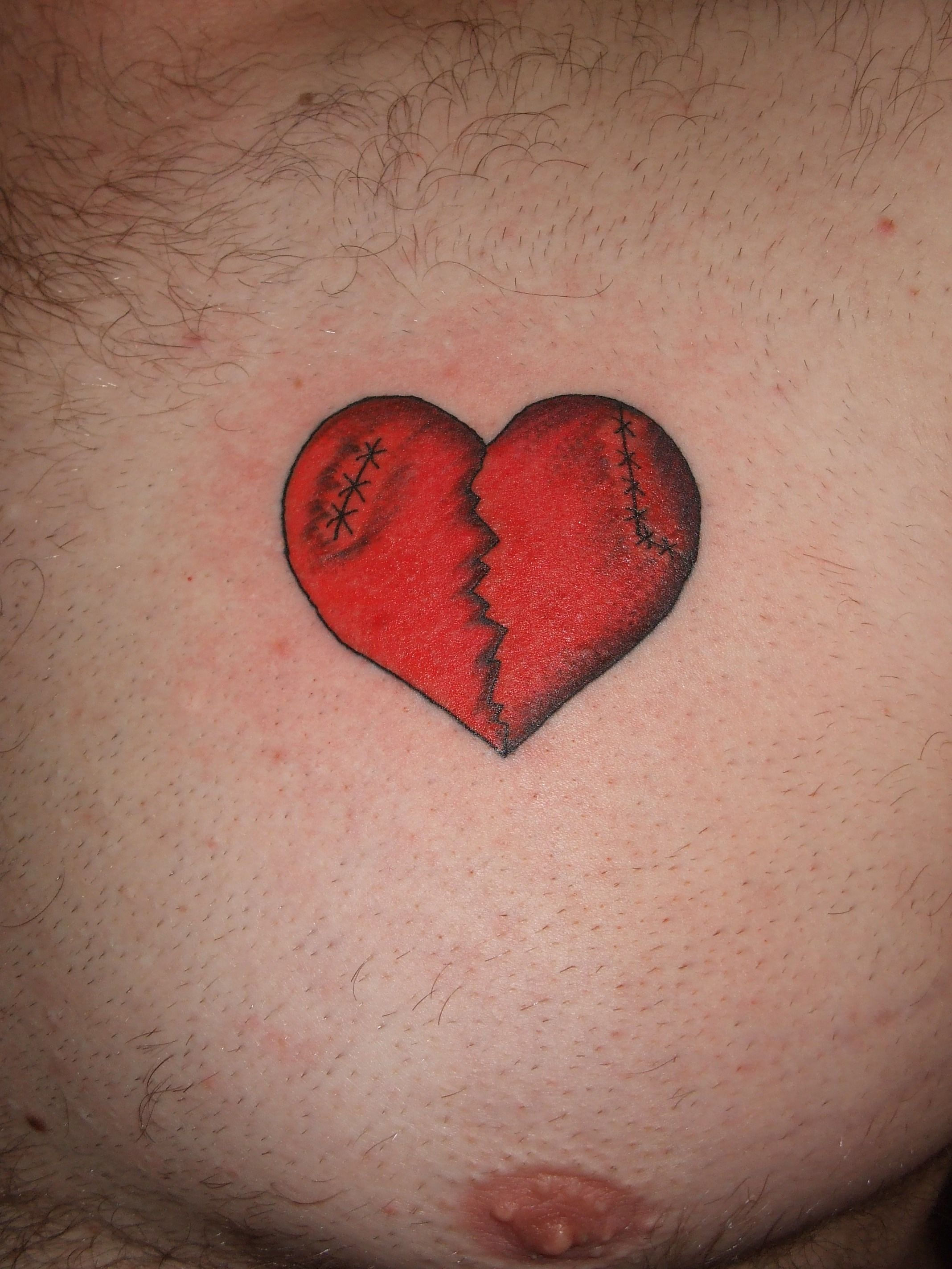 broken heart tattoo designs image and save image as click
