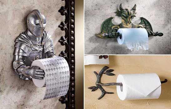 portarrollos de papel higi nico muy originales para