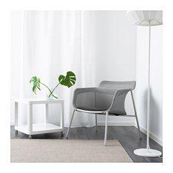 IKEA - IKEA PS 2017, Kreslo, šedá, , Mäkká sieťovaná látka podopiera vaše telo arobí stoličku pohodlnejšou.Kreslo je ľahké a jednoducho sa prenáša, keď chcete umyť podlahu alebo prestavať nábytok v miestnosti.