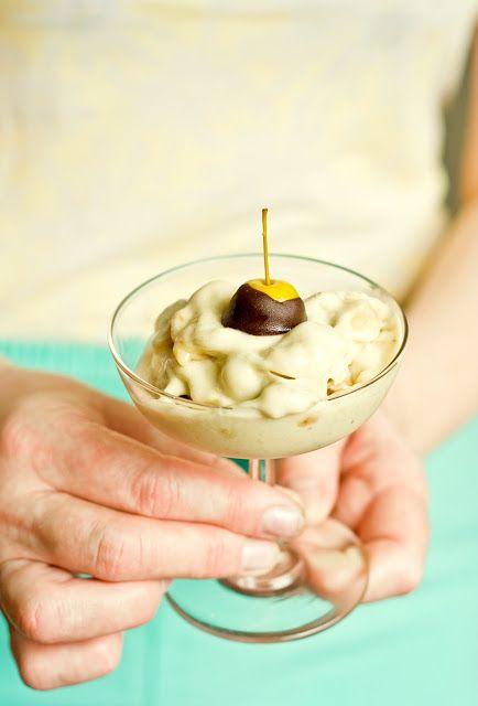 Banaanijäätis (banana ice cream)