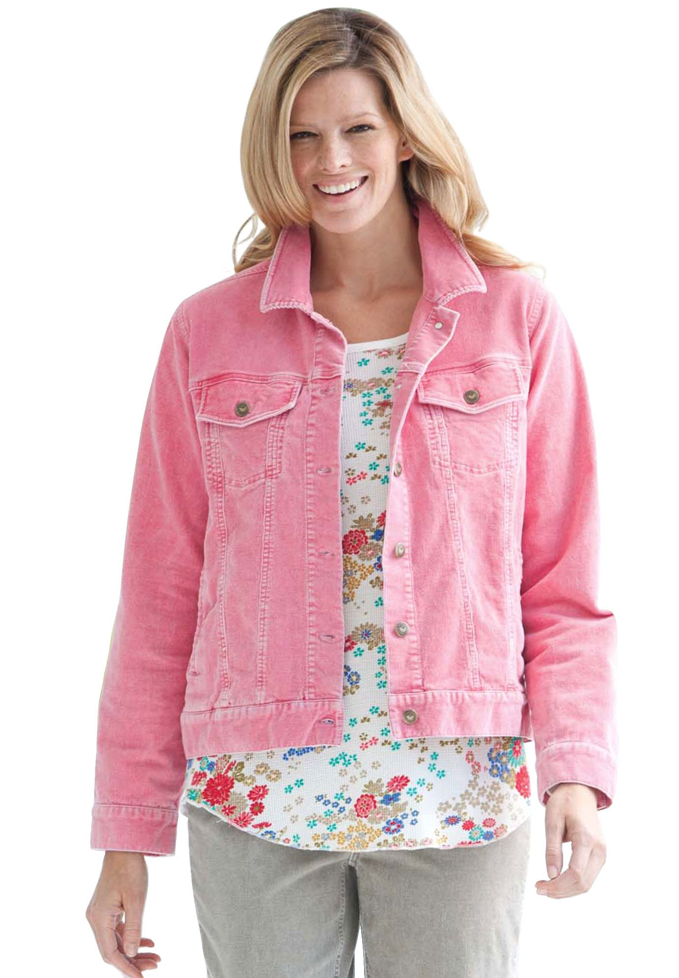 4348ed53bdb57 Plus Size Jacket in soft