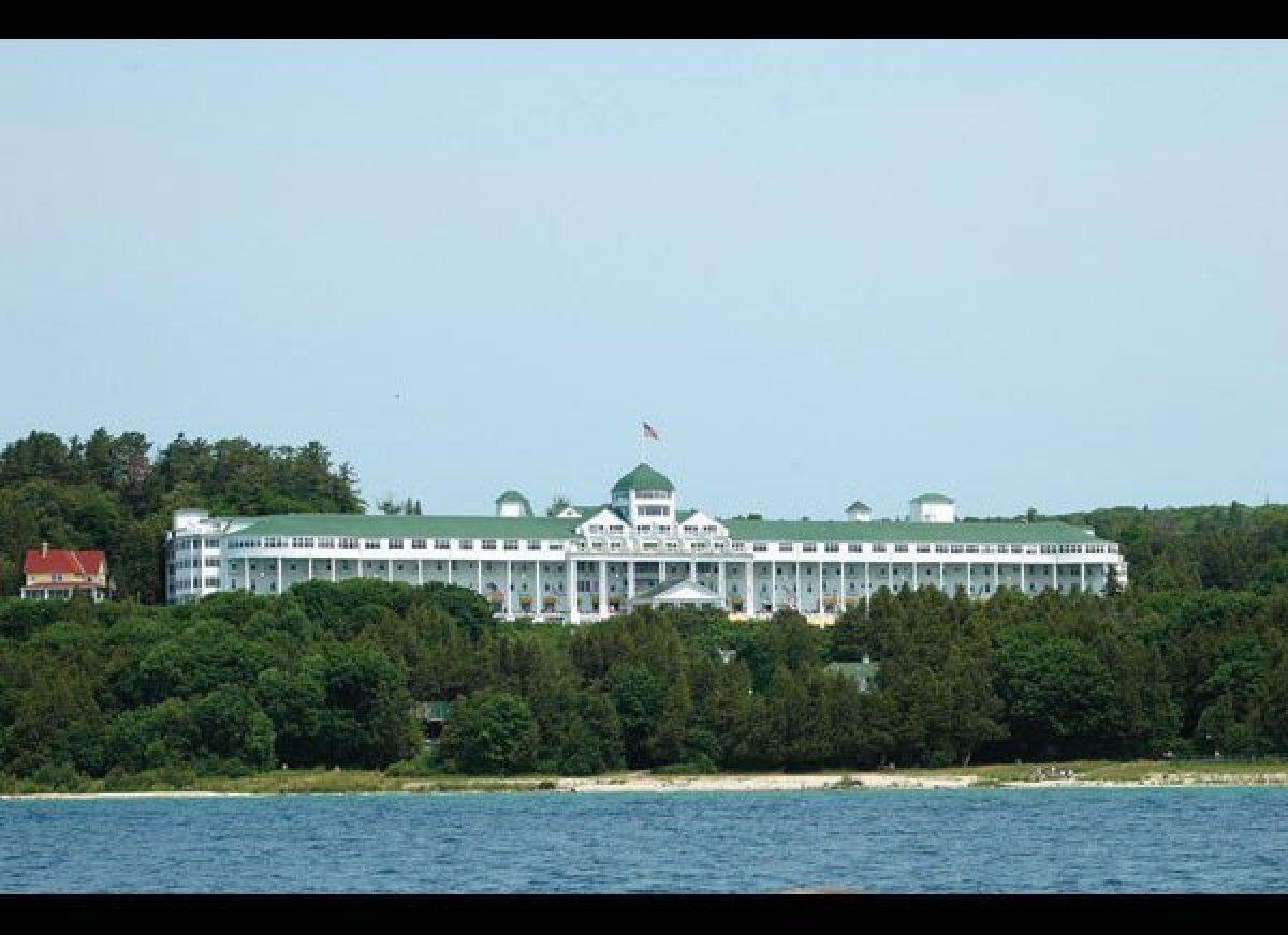 The Grand Hotel Where Mackinac Island Michigan