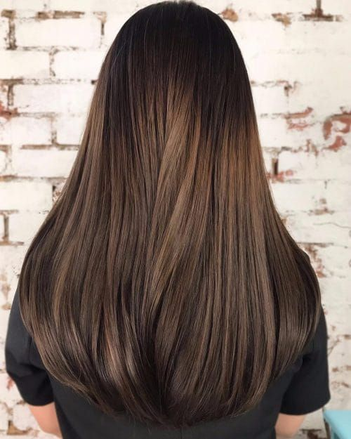 41 Incredible Dark Brown Hair With Highlights Ideas For