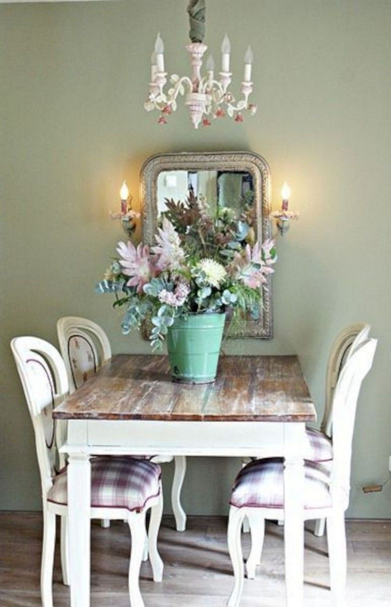 30 Easy Vintage Dining Room Lighting Decor Ideas Shabby Chic