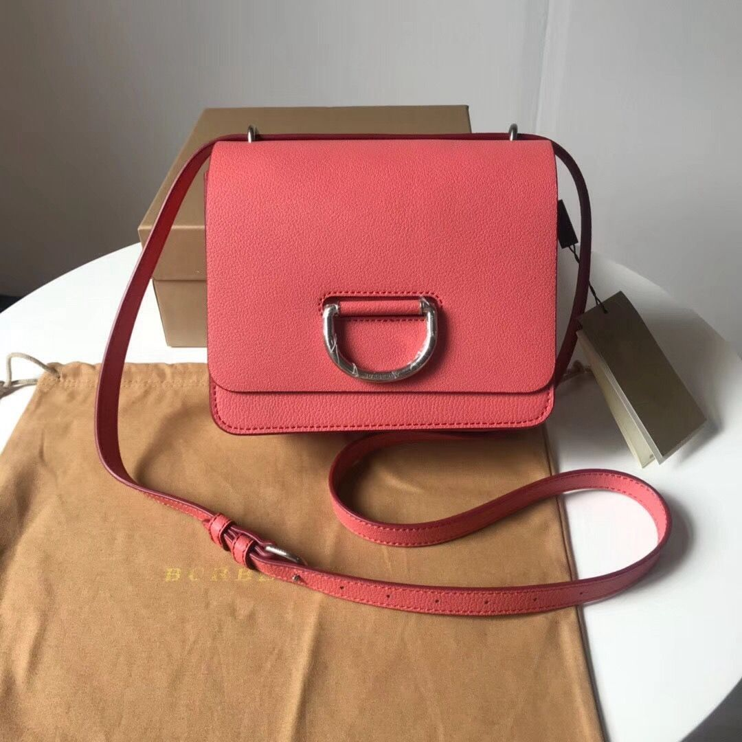 fb3fdeb74209 Burberry Small Leather D-ring Bag Rosy 2018