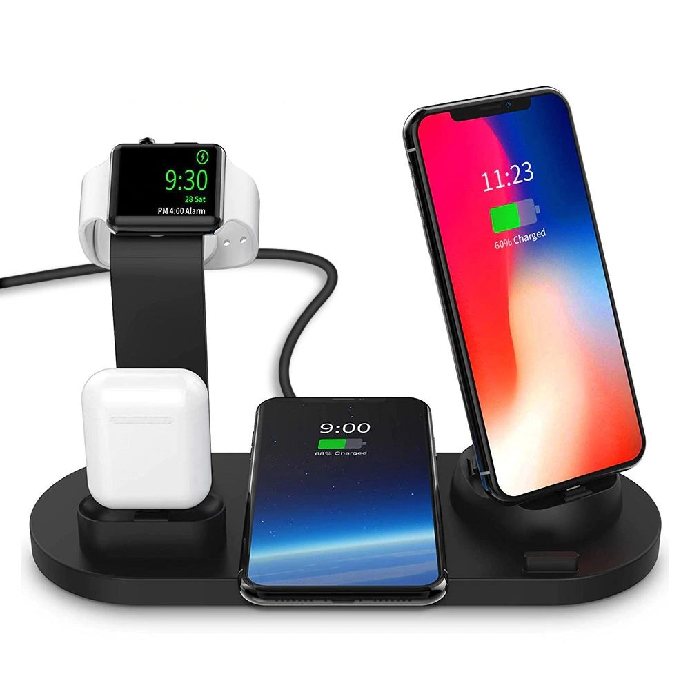3 in 1 charging dock holder for apple watch iphone airpods