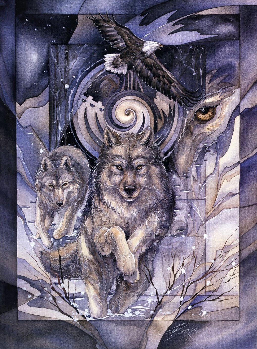 Рисунки духи животных