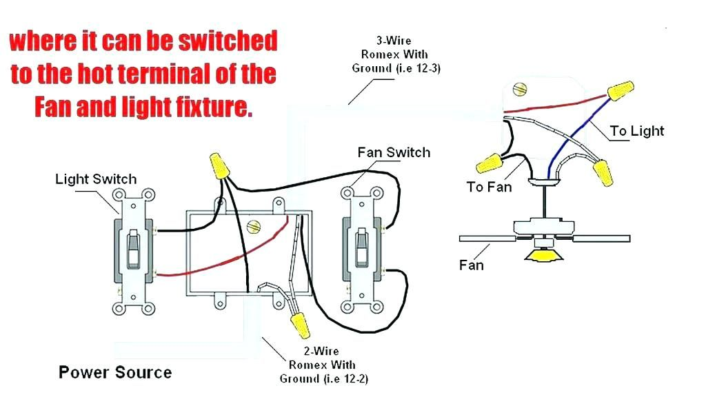 Ceiling Fan Internal Three Way Light Switch Wiring Diagram