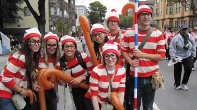 11 creative group halloween costume ideas - Halloween Costumes For 7