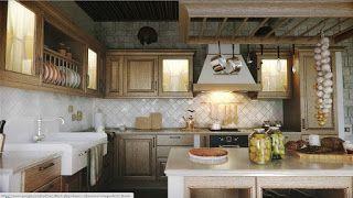 Aneka Desain Dapur Tradisional Terbaru 2015 Rustic Kitchen