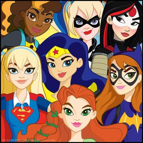 Superhero Girls Wonder Woman Cat Woman She Hulk Super Girl