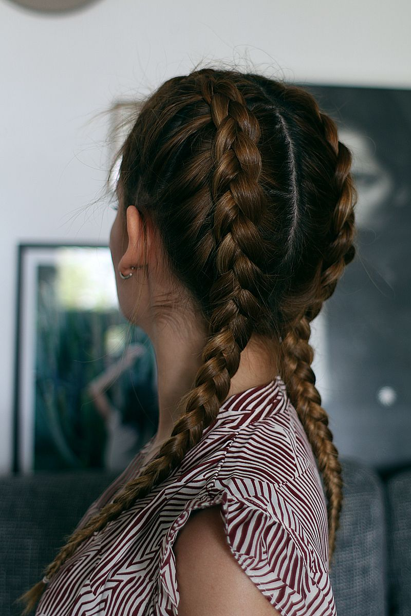 Zöpfe Flechten Anleitung How To: The Boxer Braids | Beauty // Things We Love