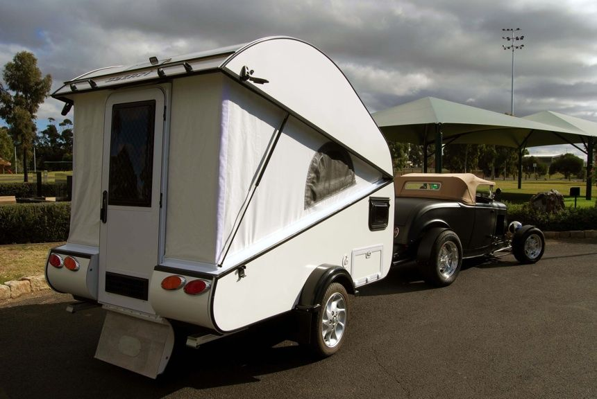 Wombat Conversions Pop Up Tear Drop Style Teardrop Camper
