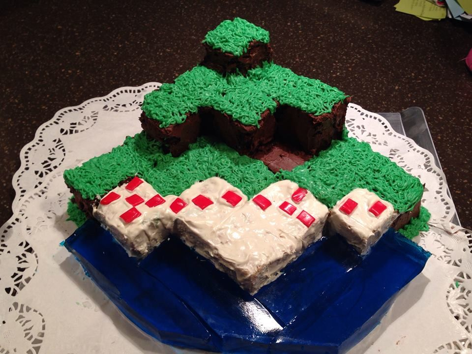 This is me attempting to do a minecraft cake for my sonu0027s birthday - coaching resume