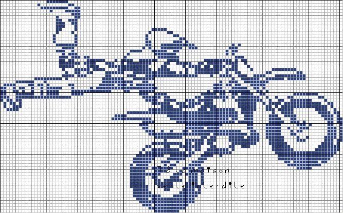 Grille gratuite une autre moto de cross crochet - Moto cross gratuit ...