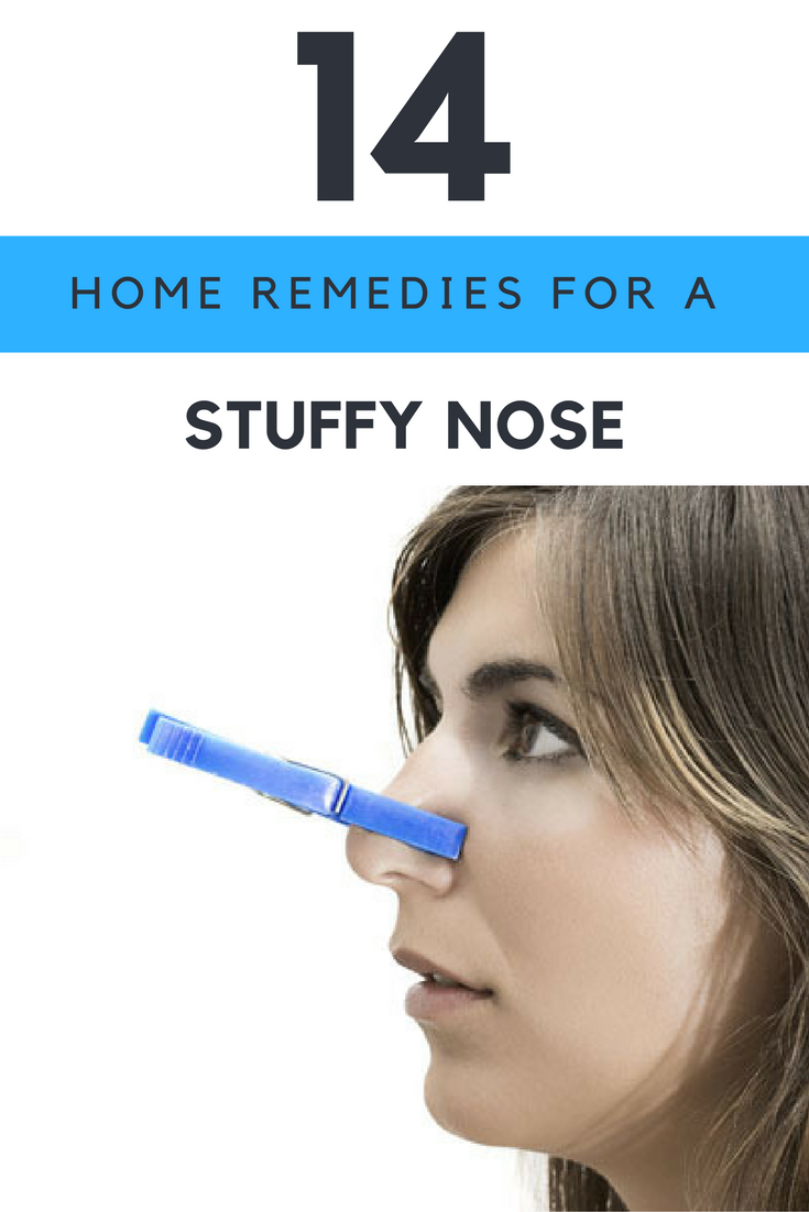 home remedies for stuffy nose - 14 ways to cure nasal congestion