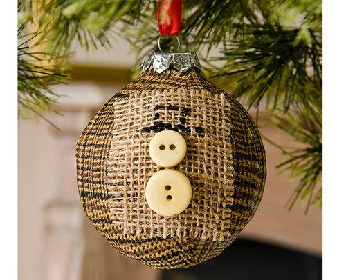 Burlap and button snowman christmas ornament snowman christmas burlap and button snowman christmas ornament ideas solutioingenieria Gallery