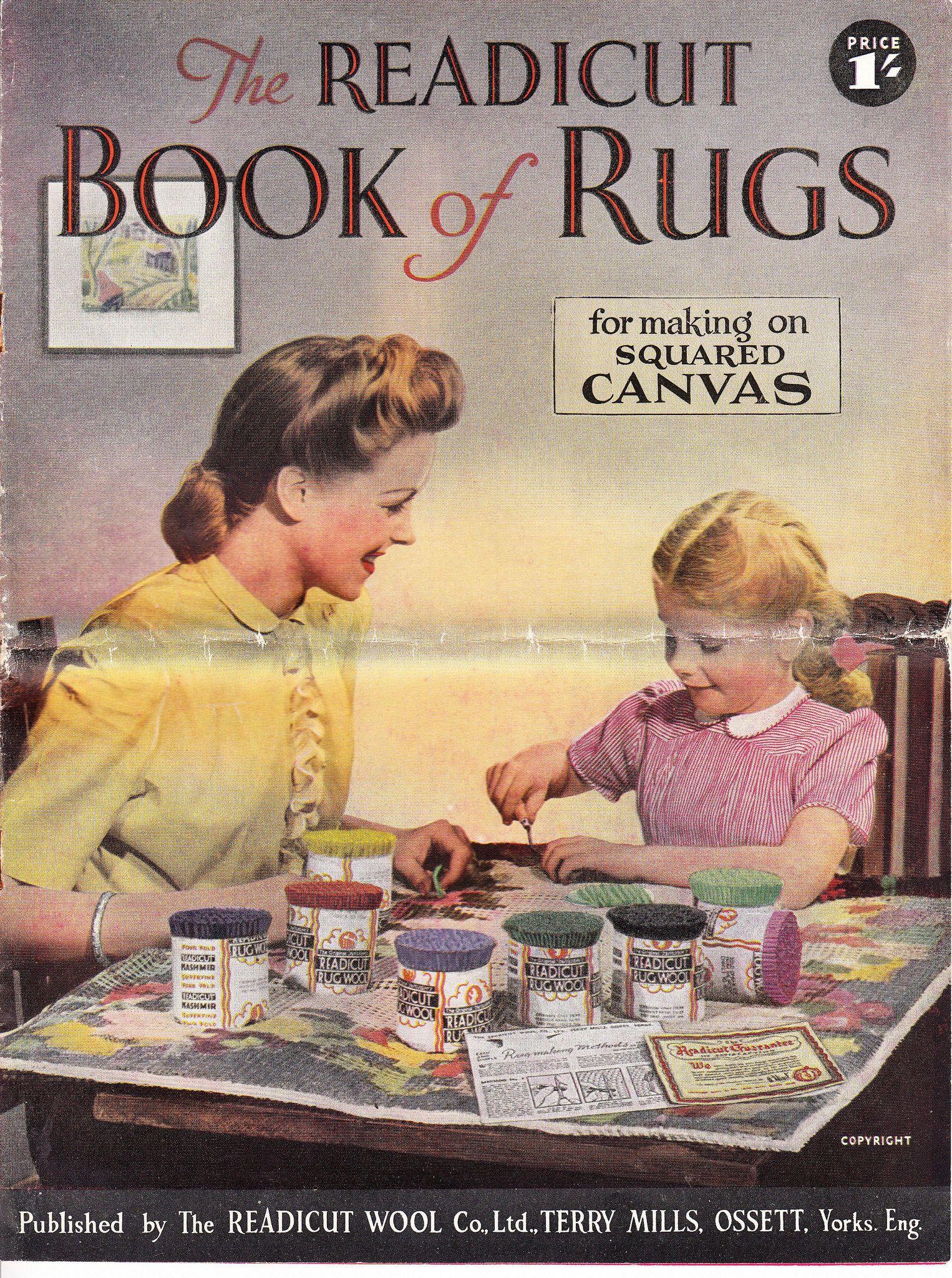 Readicut Book Of Rugs 1948 Books
